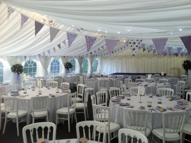 Wedding Marquee In Hertfordshire