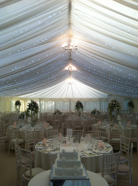 Wedding Marquee In Billericay